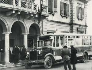 Tra le guerre - autobus 55 - 1930