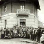 Tra le guerre - festa ex combattenti albergo regina 1929