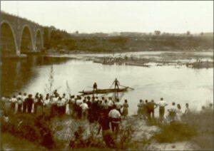 Tra le guerre - festa sul sangone 1930