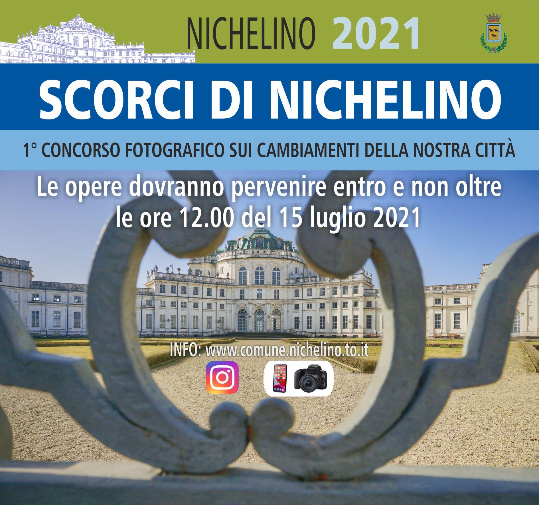 """I° Concorso Fotografico: """"Scorci di Nichelino"""" – Proroga Concorso"""