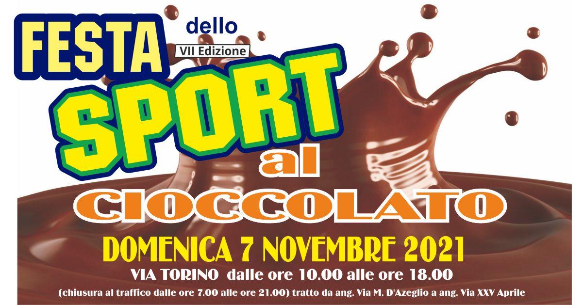 Festa dello sport: Edizione…al Cioccolato