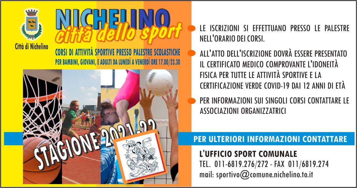 Nichelino citta dello sport